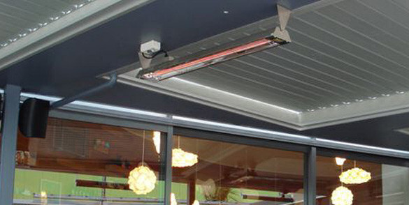 Infratech radiant heaters heatmax nz outdoor heaters for Electric radiant heat efficiency