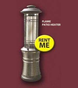 Heatmax Flame Patio Heater