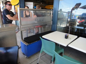 Portable Cafe Screens