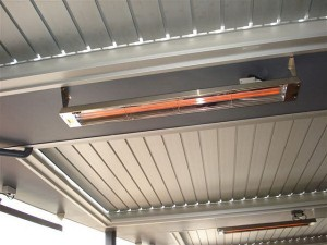 Infratech roof heater